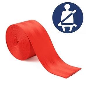 Auto gemodificeerde polyester zadel riem harnas Racing Safety veiligheidsgordel  lengte: 3.6 m (rood)