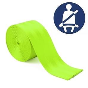 Auto gemodificeerde polyester zadel riem harnas Racing Safety veiligheidsgordel  lengte: 3.6 m (fluorescerende groen)