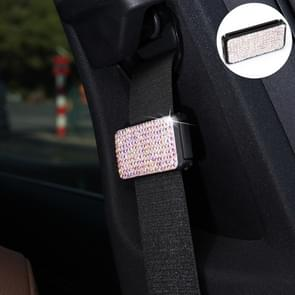 Auto veiligheidsgordels Crystal clip Fixer aanscherping regulator (kleur)