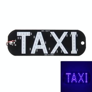 HR-1907T 3W Taxi koepel Lamp met 45 LED-verlichting  DC 12V (blauw licht)