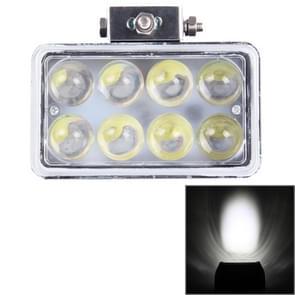 4 inch DC 9-36V 40W 3800LM 6000K IP67 waterdichte kwadraat auto Spotlight mist Spot Mistlamp LED auto lampen met 8 LED Lights(White Light)