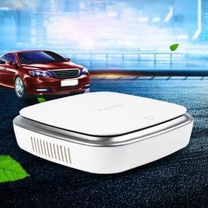 XJ-002 auto/huishoudelijke Smart Touch Control Luchtreiniger negatieve ionen luchtfilter (wit)