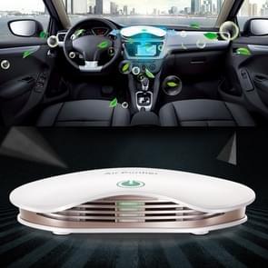 BL-001 auto/huishoudelijke Smart Touch Control Luchtreiniger negatieve ionen luchtfilter (wit)