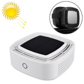 XJ-005 auto/huishoudelijke zonne-energie Smart Touch Control Luchtreiniger negatieve ionen luchtfilter (wit)
