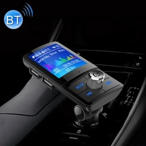 BC-45 Bluetooth Car Kit FM Transmitter Car 2 USB Charger with LED Display, Support Handsfree Function & TF Card