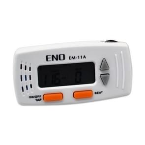 ENO EM-11A LCD Display Screen Mini Instrument Universal Electronic Dumb Combat Board Trainer Drum Exercise Metronome Electronic Vocal Metronome