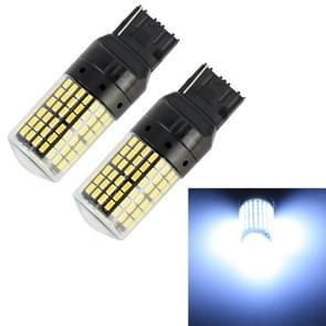 2 stuks T20/7440 DC12V/18W/1080LM auto auto turn lichten met SMD-3014 lampen (wit licht)