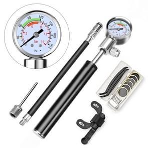 Portable High Pressure Pump Bicycle Pump Mini Mountain Bike Pump + Glue-free Tire Repair Box