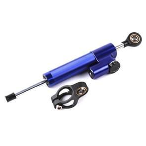 Motor stuur Universele Schokdemper Richting Demper Stuurstabilisator Demper Accessoires (Blauw)