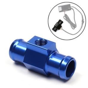 Motorfiets Modificatie Onderdelen Universal CNC Aluminium Water Temperatuur Meter Sensor Joint Transfer Interface  Grootte: 18mm(Blauw)
