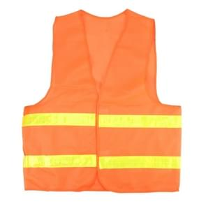 XXL Reflective Fluorescent Vest Safty Cloth Driving School Construction Traffic Safty Warning Working Cloth