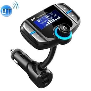 BT70 Smart Bluetooth 4.2 FM zender QC3.0 snelle gratis MP3 muziek speler carkit met 1 7 inch scherm  ondersteuning voor Hands-Free bellen