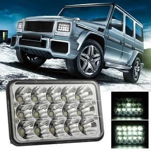 5 inch 4X6 H4 15W DC 9-30V 1500LM IP67 auto vrachtwagen off-road voertuig geleid werk lichten/koplamp  met 15LEDs lampen