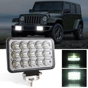 5 inch 4 x 6 H4 15W DC 9-30V 1500LM IP67 auto truck off-road voertuig LED-werklampen/koplamp  met 15LEDs lampen en houder