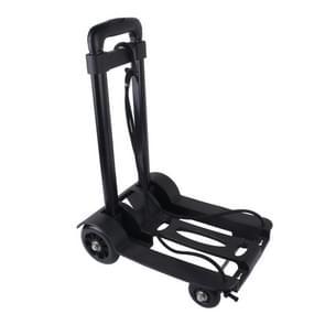 Lichtgewicht Portable Folding bagage karren Travel Trolley met touw
