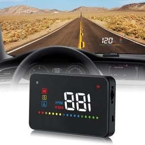 A200 OBD2 3.5 inch Vehicle-mounted Head Up Display Security System, Support Car Speed / Engine Revolving Speed Display / Water Temperature / Voltage