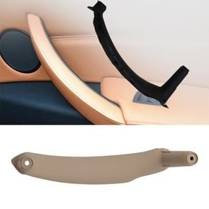 Car Interior Right Handle Inner Door Armrest Panel Pull 51416969401 for BMW X5 / X6(Beige)