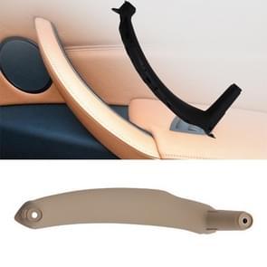 Car Interior Left Handle Inner Door Armrest Panel Pull 51416969401 for BMW X5 / X6(Beige)