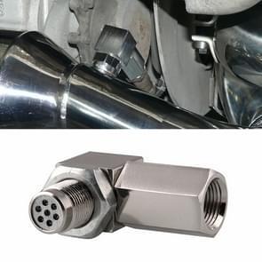 90 Degree Car Oxygen Sensor Spacer Engine Light CEL Check Bung Mini Catalytic Converter M18 x 1.5