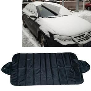 Auto voorruit zon schaduw Winter auto sneeuw Shield Cover Auto voorkant voorruit / regen / vorst / zonnescherm Auto Sneeuwwitje Shield  grootte: 150 * 70cm  willekeurige kleur levering
