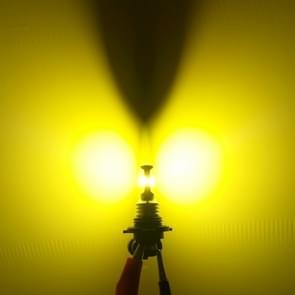 2 PC's H7 72W 700LM 3000K Super heldere gele lichte auto mist LED lampen  DC 12-24V