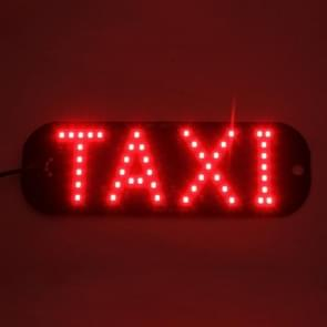 3W Red Light Taxi Dome Lamp With 45 LED Lights  DC 12V Cable Length:100cm(Red Light)