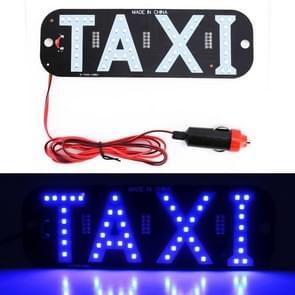 3W blauw licht Taxi koepel Lamp met 45 LED-verlichting  DC 12V kabel lengte: 100 cm