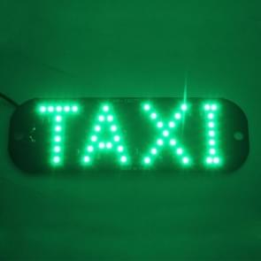 3W groen licht Taxi koepel Lamp met 45 LED-verlichting  DC 12V kabel lengte: 100 cm
