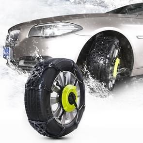 8 PC's auto sneeuw Tire anti-slip ketens Winter auto sneeuw Tire Chains wiel ketens anti-slip verdikte antislip Chain Black Belt kettingen met twee vaste plaat