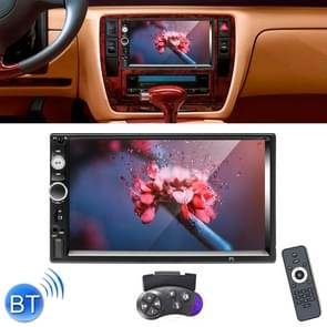 A2207 HD 2 Din 7 inch Car Bluetooth Radio Receiver MP5 Player, Support FM & USB & TF Card & Mirror Link, with Steering Wheel Remote Control