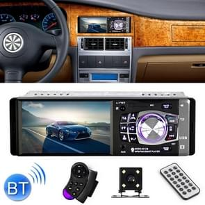 4012B HD 1 Din 4.1 inch Car Bluetooth Radio Receiver MP5 Player, Support FM & TF Card, with Steering Wheel Remote Control
