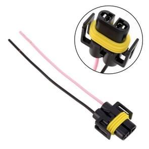 1 paar H11 lamphouder basis Male socket met draad
