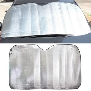 Silver Aluminum Foil Sun Shade Car Windshield Visor Cover Block Front Window Sunshade UV Protect, Size: 220 x 80cm