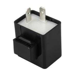 Auto auto-styling DC 12V 2 Pin LED richtingaanwijzer motorfiets Flasher Relay