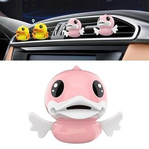 Cute Duck Pattern Car Aromatherapy Air Freshener (Pink)