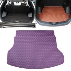 Auto trunk mat achterste vak Lingge mat voor Nissan X-Trail 2014 (paars)