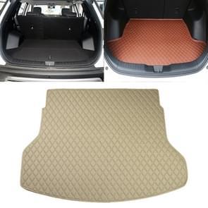 Auto trunk mat achterste vak Lingge mat voor Nissan X-Trail 2014 (beige)