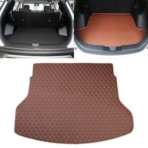 Auto trunk mat achterste vak Lingge mat voor Nissan X-Trail 2014 (licht bruin)