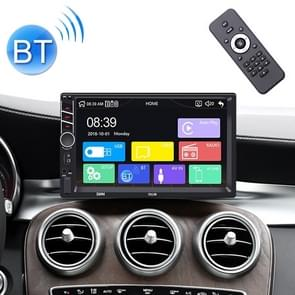 7013B HD 7 inch Universal Car Radio Receiver MP5 Player, Support FM & Bluetooth & TF Card & Phone Link with Remote Control