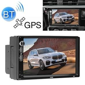 A5 7 inch HD Universal Car Android 8.1 Radio Receiver MP5 Player, Support FM & GPS & Bluetooth & Phone Mirror Link