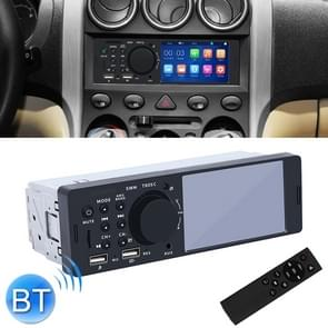 7805C 4.1 inch Universal Car Radio Receiver MP5 Player, Support FM & Bluetooth & TF Card with Remote Control