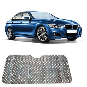 Sun Shade Three Compartments Car Windshield Visor Cover Block Front Window Sunshade UV Protect, Size: 140 x 70cm