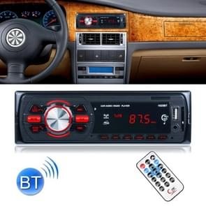 1025 Wireless Bluetooth Car Stereo Receiver Audio Radio MP3 Player, with U-disk & SD Card Slot, AUX in and FM