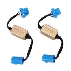 2 stuks 9004 9007 LED koplamp anti flikkering weerstand Canceller decoders