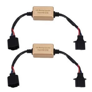 2 stuks H13 LED koplamp CANbus error gratis computer waarschuwing Canceller weerstand decoders anti-flikkering condensator harnas