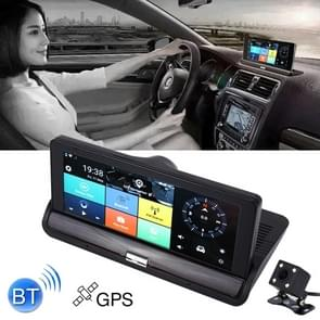 7 inch Auto DVR Rearview Mirror Dual Camera WiFi GPS Driving Video Recorder Bluetooth Hands-free Car Dash Cam  3G Versie