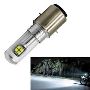 Motorcycle Headlights 750LM 6000K White H6/BA20D 40W 8-LED Bulbs, DC 12-24V