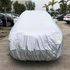 PVC Anti-Dust Sunproof SUV Car Cover with Warning Strips, Fits Cars up to 4.8m(187 inch) in Length