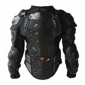 BA-03 SUV motor fiets Outdoor sporten Armor beschermende jas  maat: S(Black)