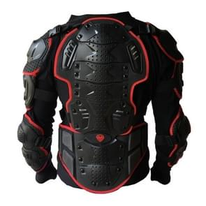 BA-03 SUV motor fiets Outdoor sporten Armor beschermende jas  maat: L(Red)